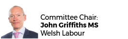 John Griffiths AM - Chair